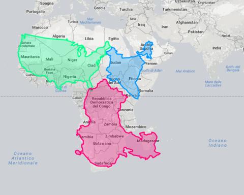 Africa combinata