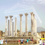 ricostruzione gif tempio di Giove